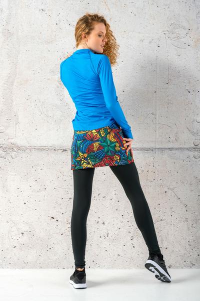 Thermoactive Running Skirt Mosaic Lumo - SRPA-12M4