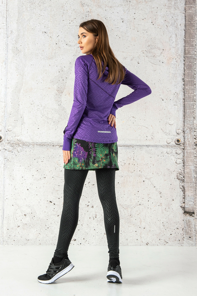Thermoactive Running Skirt Pine - SRPA-12L1