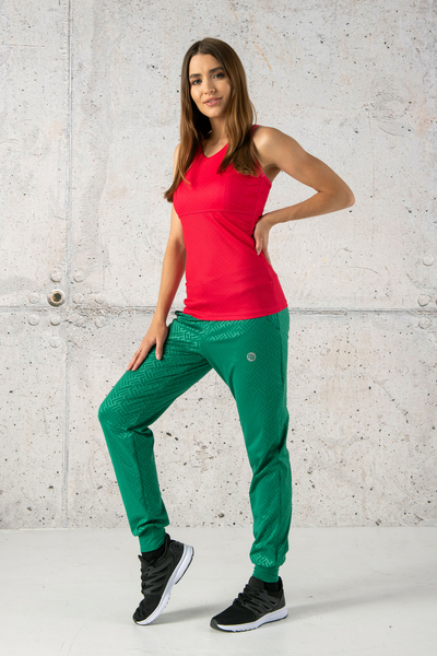 Light Sweatpants Shiny 2 Green - SCCN-1250T