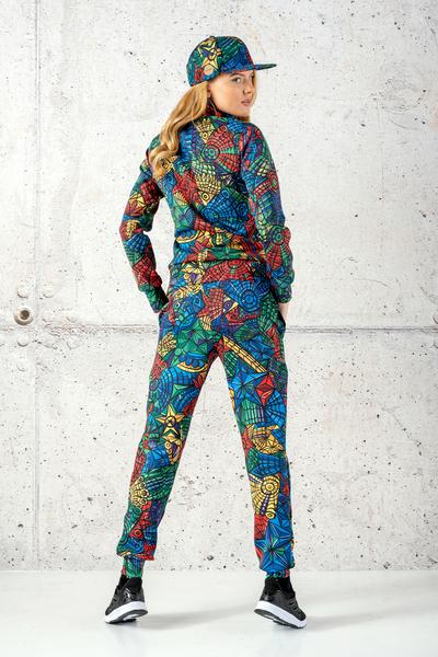 Loose Sweatpants Mosaic Lumo - SDWN-12M4
