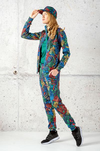 Loose trousers Mosaic Lumo - SDWN-12M4