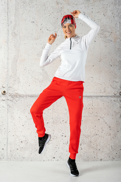 Loose trousers Red Mirage - SDWN-11X4