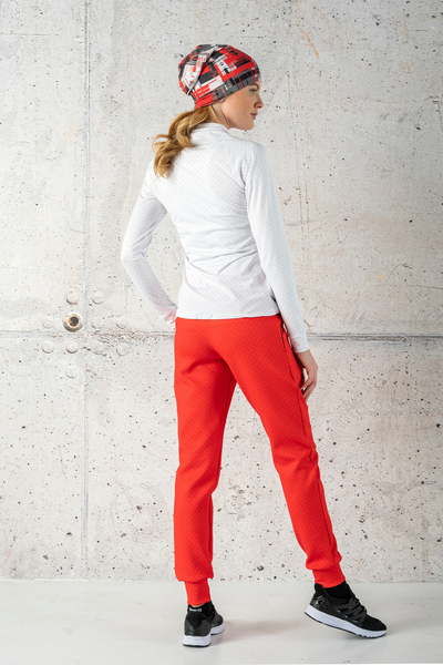 Loose Sweatpants Red Mirage - SDWN-11X4