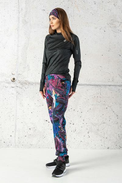 Loose trousers Selva Blue - SDWN-11T3