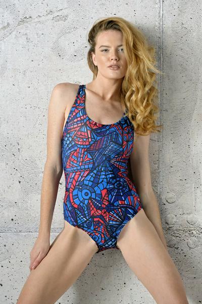 Swimsuit Mosaic Glow - SJK-12M3