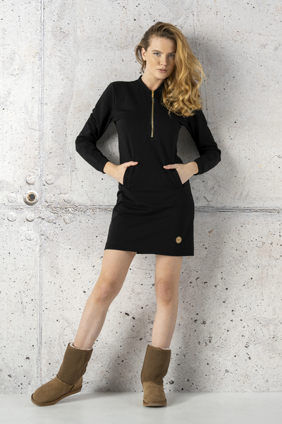 Dress Gina Black - OSGI-90
