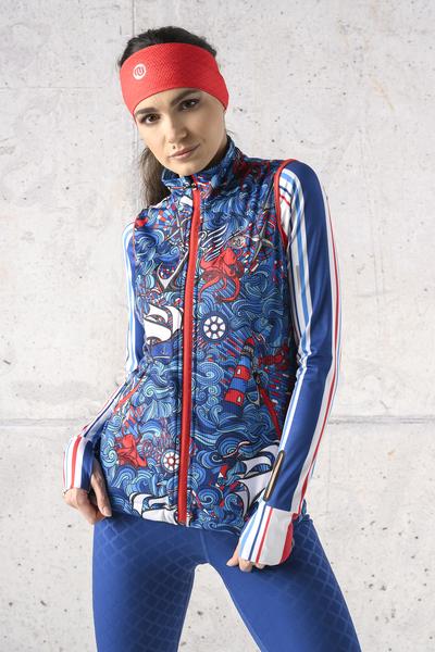 Ladies' sleeveless jacket - HBD-13F1
