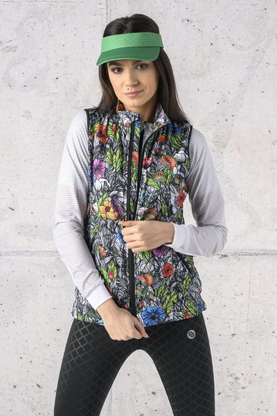 Ladies' sleeveless jacket - HBD-13M4