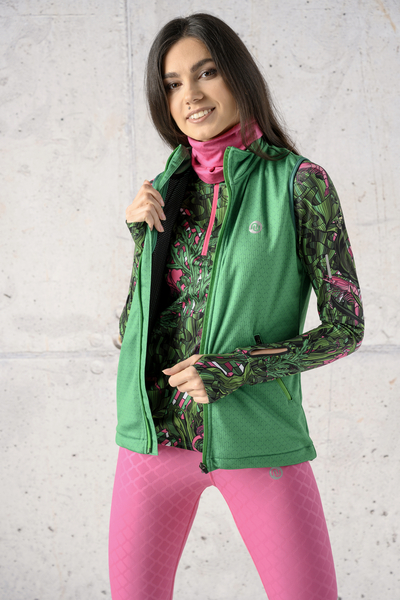 Sleeveless jacket Green Mirage - HBD-13X7