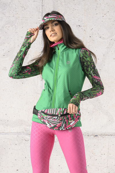 Ladies' sleeveless jacket - HBD-13X7