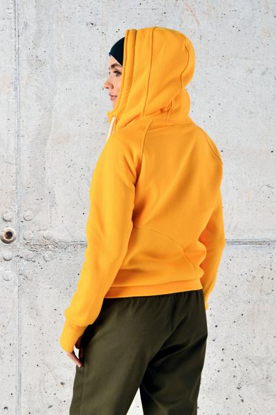 Sweatshirt With Hood Bioko Yellow II Quality - ORBD-10-G2