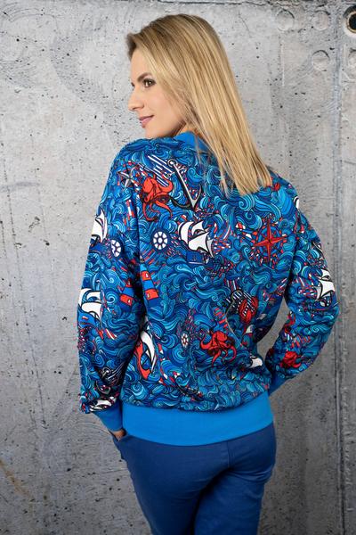 Sweatshirt Blue Ocean - OKRN-13F1