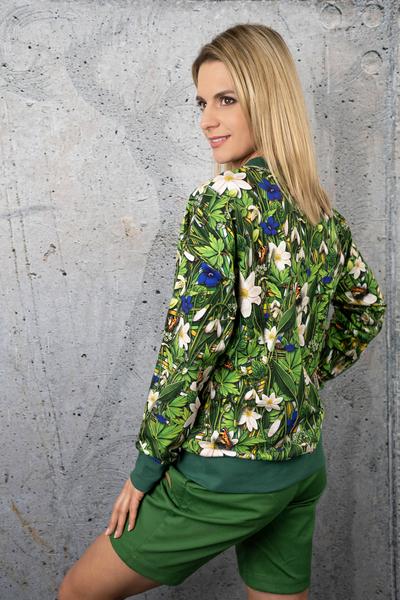 Sweatshirt Wild Flowers - OKRN-13W1