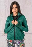 Bluza Rozpinana Z Kapturem LIMITOWANA Shiny Green - HRDK-1170T - packshot