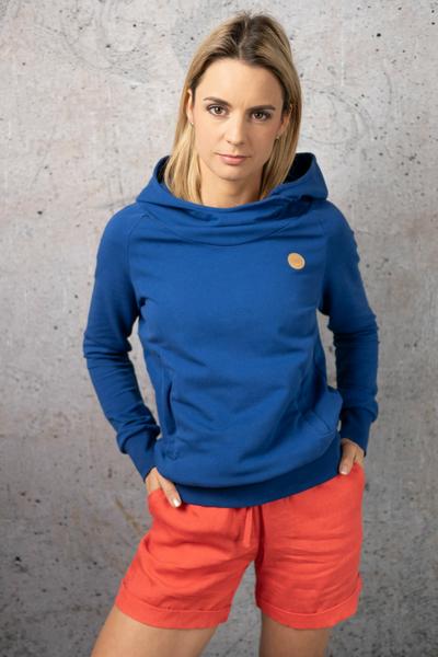 Sweatshirt With Hood Kayo Navy - OKYD-80