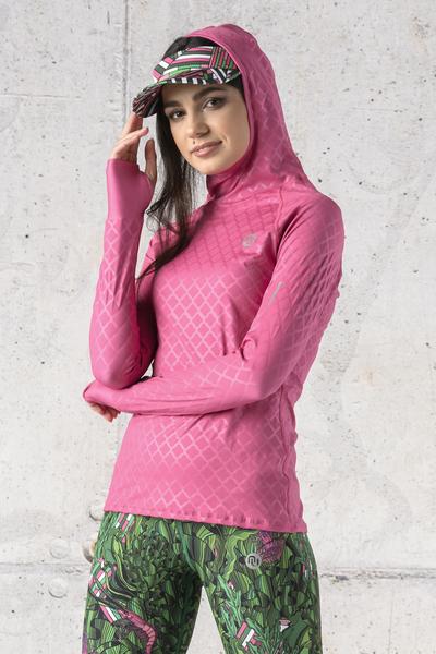 Training sweatshirt with a hood - LBK-1120T