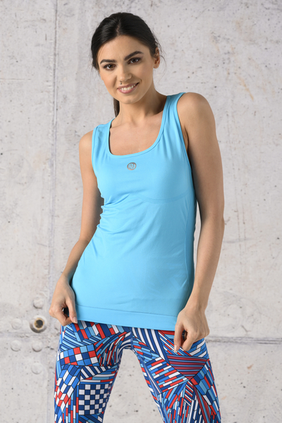 Ultra Light Breathing Tank Top Turquoise - DBU-55