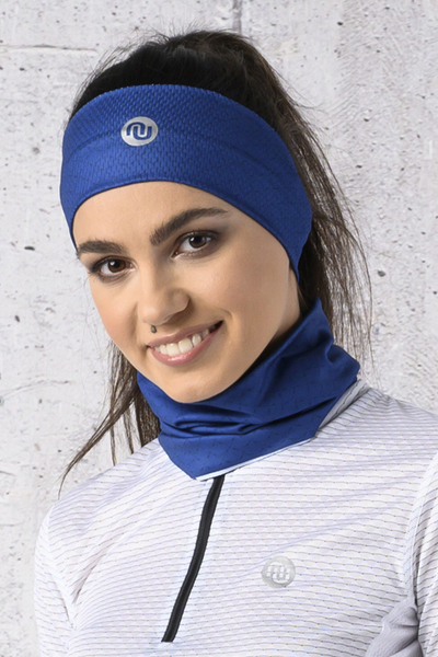 Summer Breathable Neck Warmer Navy Mirage - ABL-13X8