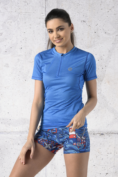 T-shirt Zip Karbon - KBC-05