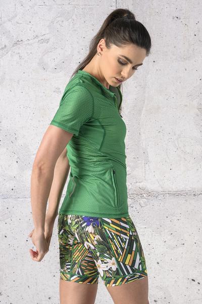 T-shirt Zip Karbon - KBC-13X7