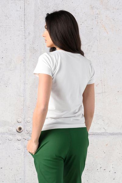 T-shirt Classic White - ITC-00KW