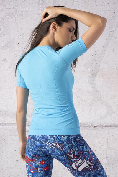 Koszulka Termoaktywna Ultra Light Turquoise - BUD-55