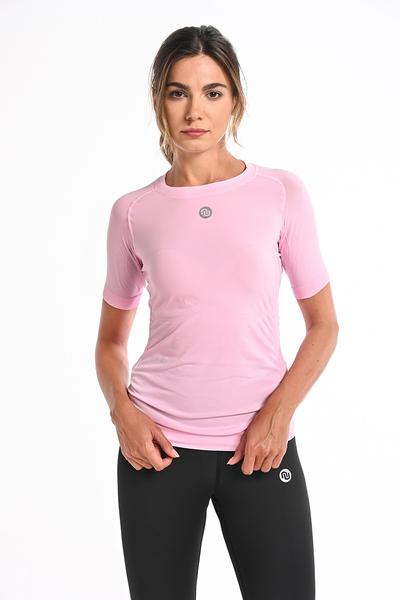Koszulka Termoaktywna Ultra Light Pink - BUD-20