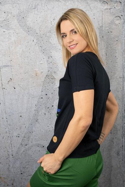 T-shirt Petite Black - IYB-90KW