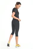 Legginsy 3/4 Fitness Total Black - OSTF-PB90 - packshot