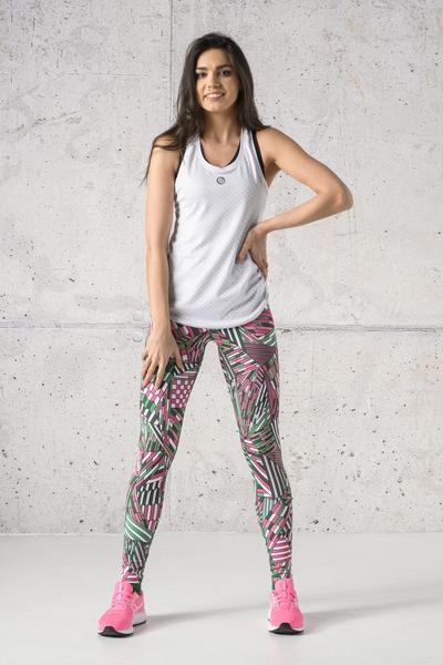 Fitness Leggings Gamo Pink - OSLF-13S2