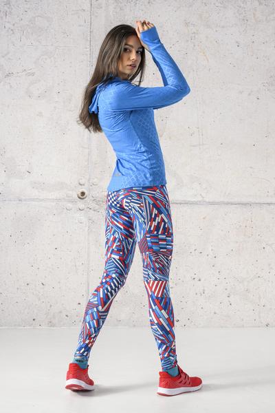 Fitness Leggings Gamo Blue - OSLF-13S5