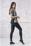 Fitness Leggings Total Black  - OSLF-PB90 - packshot