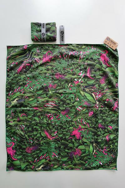 Ręcznik z Mikrofibry Green Mystery - ARE-13L1 80x70 CM