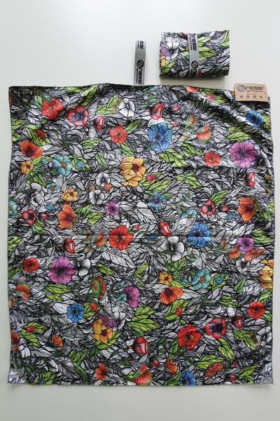 Ręcznik z Mikrofibry Mosaic Natura - ARE-13M4 80x70 CM