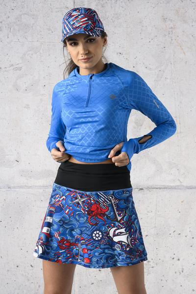 Ultra Skirt Mosaic Flora - SRNG-13F1