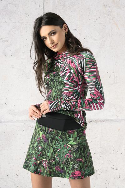 Ultra Skirt Mosaic Flora - SRNG-13L1