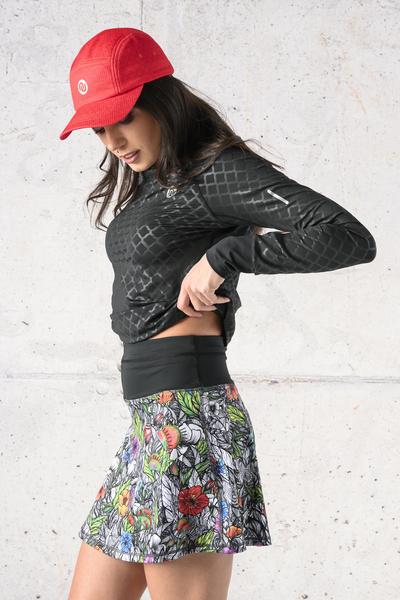 Ultra Skirt Mosaic Flora - SRNG-13M4