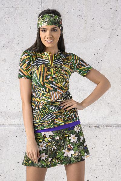 Ultra Skirt Mosaic Flora - SRNG-13W1