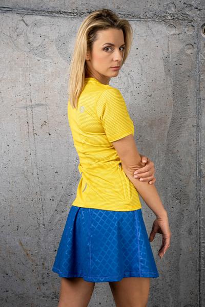 Ultra Skirt Shiny Royal Navy - SRNG-1180T
