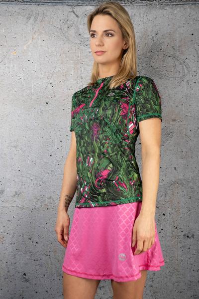 Ultra Skirt Shiny Royal Pink - SRNG-1120T