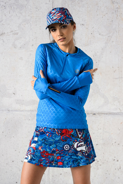 Classic Skirt Without Pants Blue Ocean - SRN-13F1