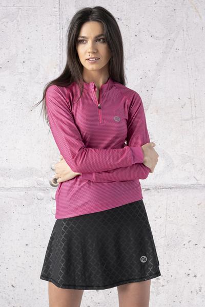 Classic Skirt Without Pants Shiny Black - SRD-1190T