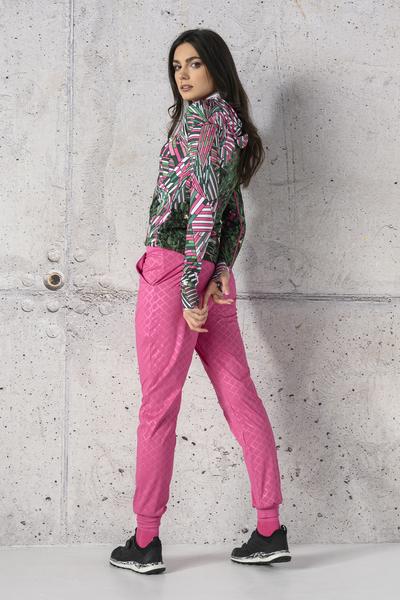 Spodnie Dresowe Light Shiny Royal Pink - SCCN-1120T