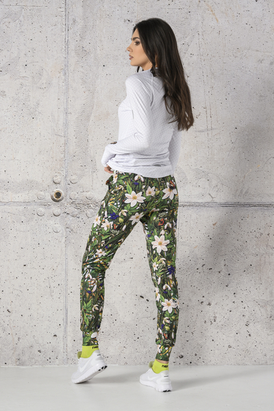 Light Sweatpants Wild Flowers - SCCN-13W1