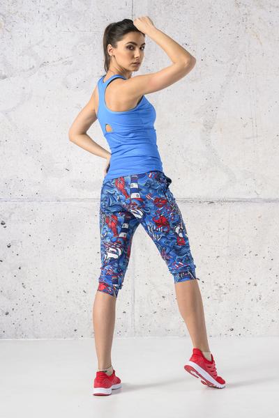 Spodnie dresowe 3/4 Blue Ocean - SCC3-13F1