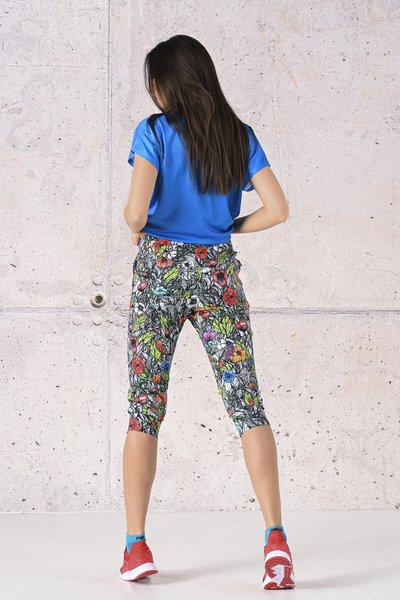 Spodnie dresowe 3/4 Mosaic Natura  - SCC3-13M4