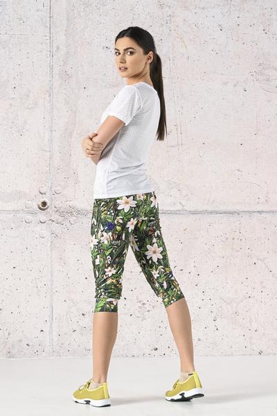 Spodnie dresowe 3/4 Wild Flowers - SCC3-13W1