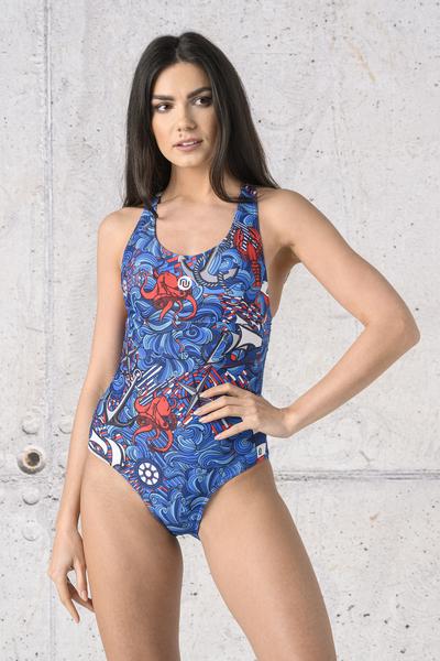 Swimsuit Blue Ocean - SSK-13F1
