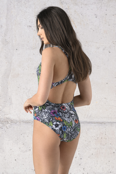 Swimsuit Mosaic Natura - SSK-13M4