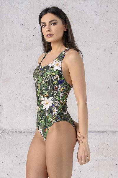 Swimsuit Wild Flowers - SSK-13W1